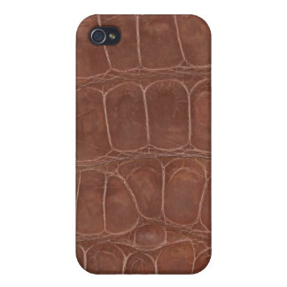 Smooth Printed Alligator Hide iPhone 4/4S Covers