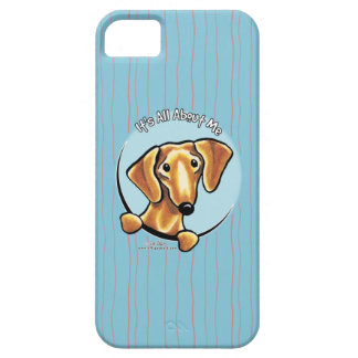 Smooth Red Dachshund IAAM iPhone 5 Cases