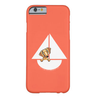Smooth Red Dachshund Sailboat Red Barely There iPhone 6 Case