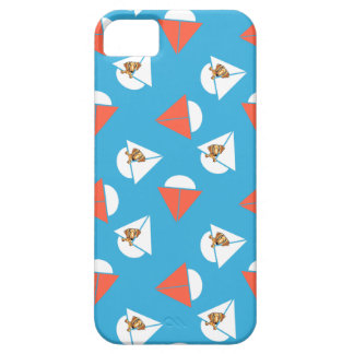 Smooth Red Dachshund Sailboats Blue iPhone SE/5/5s Case