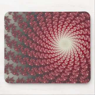 Smooth Red Whirlpool2 Mousepad
