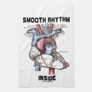 Smooth Rhythm Inside (Medical Anatomical Heart) Kitchen Towels