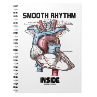 Smooth Rhythm Inside (Medical Anatomical Heart) Notebook