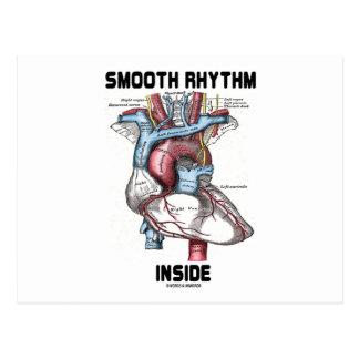 Smooth Rhythm Inside (Medical Anatomical Heart) Postcard