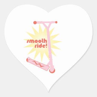 Smooth Ride! Heart Sticker