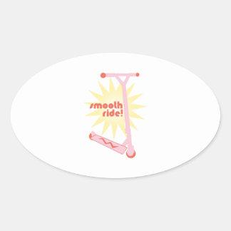 Smooth Ride! Oval Sticker