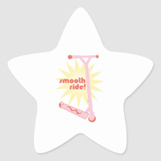 Smooth Ride! Star Stickers