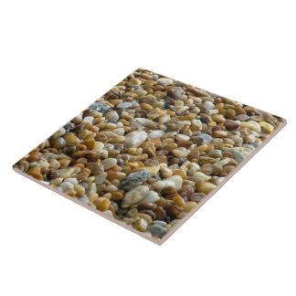 Smooth river rocks Tile