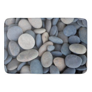 Smooth River Stones Bathroom Mat