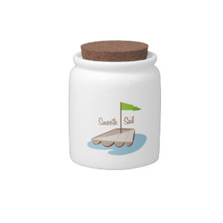 Smooth Sail Candy Dishes