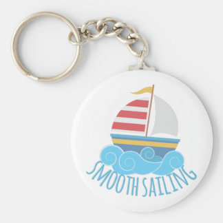 Smooth Sailiing Keychain