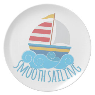 Smooth Sailiing Plate