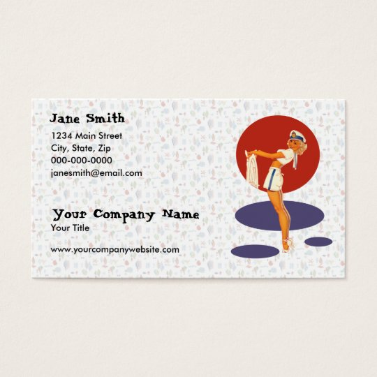 Smooth Sailing Business Card