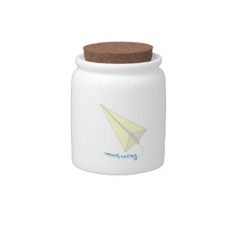 Smooth Sailing Candy Jar