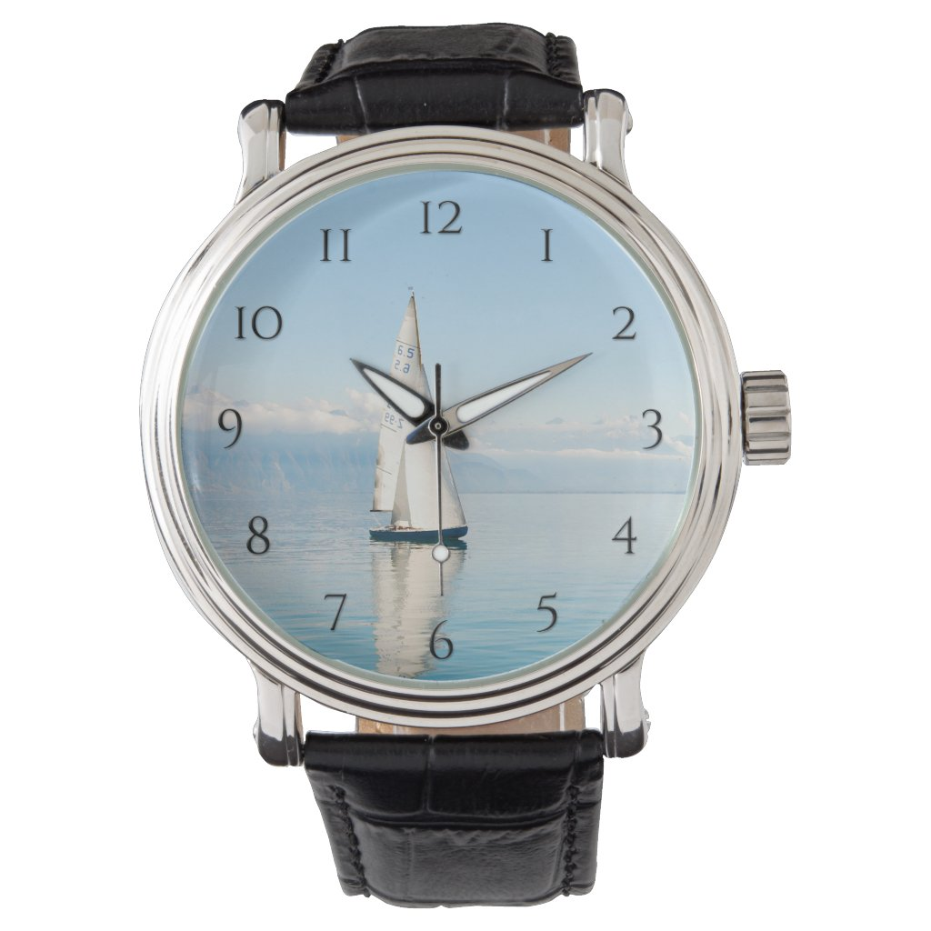 Smooth Sailing Sailboat Watch