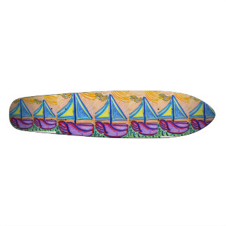 Smooth Sailing Skateboard Deck