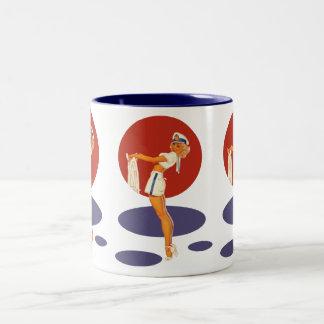 Smooth Sailing Two-Tone Coffee Mug