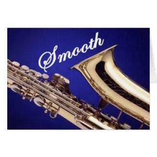 Smooth Saxophone Card