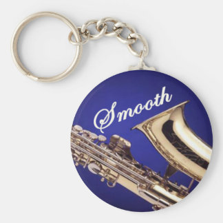 Smooth Saxophone Keychain