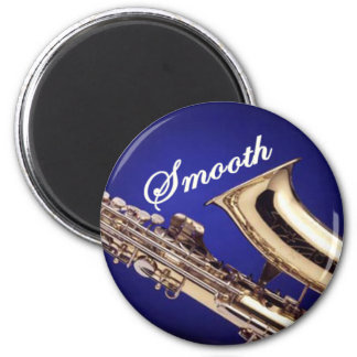 Smooth Saxophone Magnet