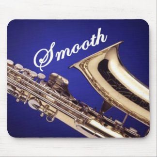 Smooth Saxophone Mouse Pad