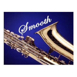 Smooth Saxophone Postcard