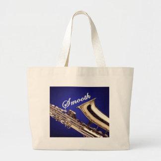 Smooth Saxophone Tote Bag