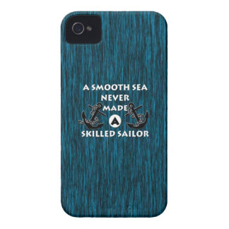 Smooth Sea Never Made Skilled Sailor iPhone 4 Case-Mate Case