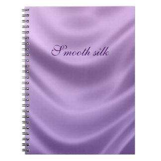 smooth silk - purple notebook