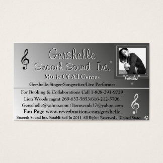 Smooth Sound, Inc. Business Card