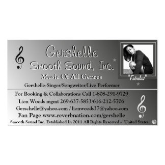 Smooth Sound, Inc. Business Card