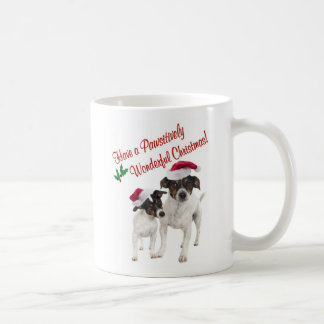 Smooth Toy Fox Terrier Christmas Wishes Coffee Mug