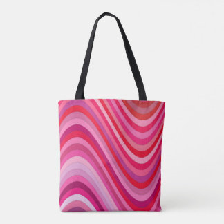 Smooth waves tote bag