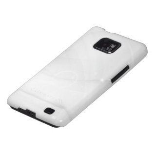 Smooth white modern case galaxy s2 case