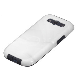 Smooth white modern case samsung galaxy s3 covers
