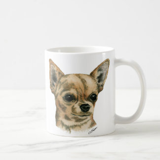 Smoothcoat chihuahua - 1 (colour) classic white coffee mug