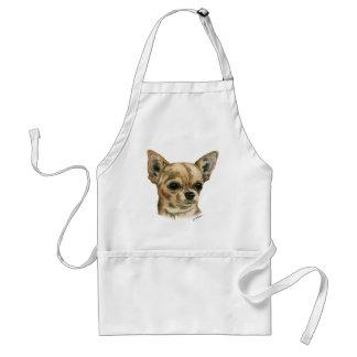 Smoothcoat chihuahua adult apron