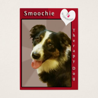 smoothie business card