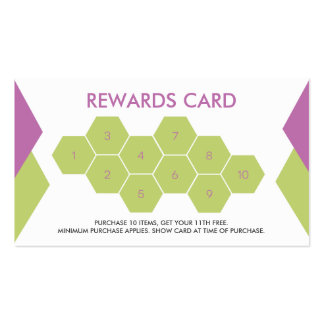 Smoothie Customer Loyalty Business Card