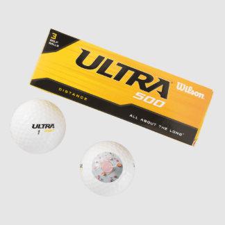 Smoothie de la fresa pack de pelotas de golf