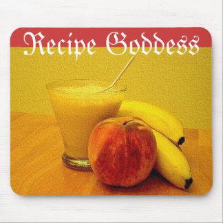 Smoothie de la fruta de las diosas de la receta tapete de raton