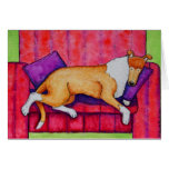 Smoothie Snooze 4x6 notecard Stationery Note Card