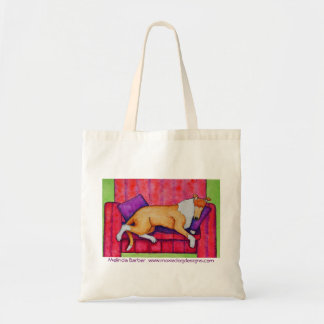 """""""Smoothie Snooze"""" tote bag"""