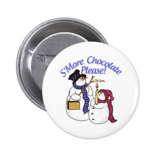 SMore Chocolate Please Pinback Button