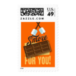 S'more For You Campfire & Bonfire Birthday Postage