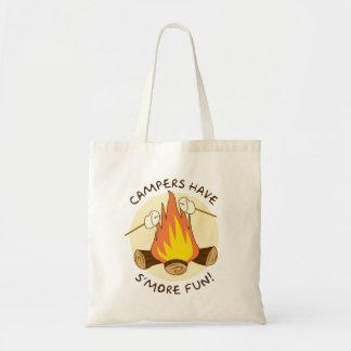 S'more Fun Budget Tote Bag