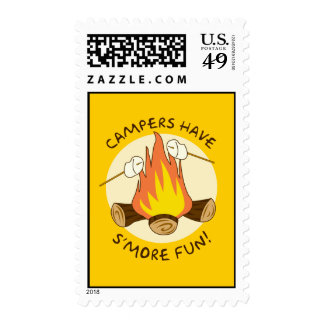 S'more Fun Postage Stamp