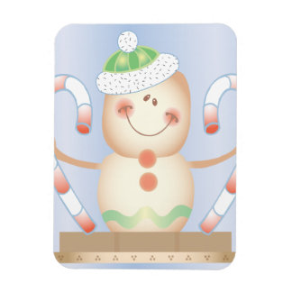 Smore_Gingerbread_Man_and_Candycane_ WINTER HAPPY Magnet