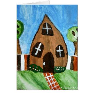 S'More House Postcard