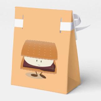 S'more sonriente caja para regalos